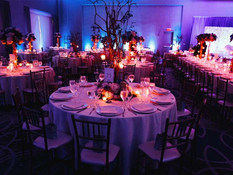 Decoración de Interiores en un Evento